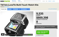 $600,000 for iPod watch kit project - Kickstarter