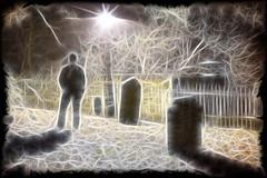 Dreamscape (tj.blackwell) Tags: church cemetery graveyard composite mystery photoshop surrealism dream surreal impressionism dreamlike edit otley