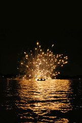 Lake Trasimeno fireworks (Paolo Lunardon) Tags: light lake love water yellow lago san fireworks luci acqua umbria trasimeno fuochi feliciano magione riflection mygearandmepremium mygearandmesilver mygearandmegold mygearandmeplatinum