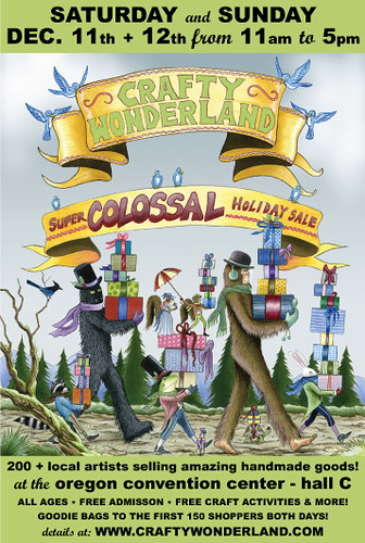 Crafty Wonderland Super Colossal Holiday Sale flyer