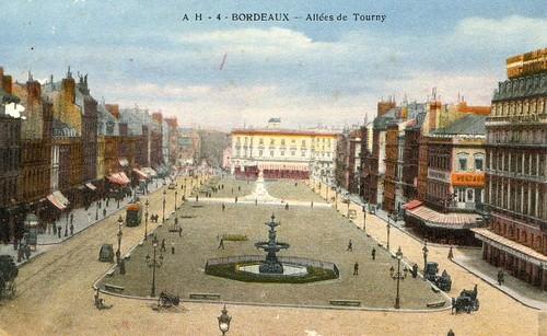 Bordeaux, les allées de Tourny