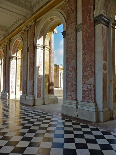 Peristilio del Grand Trianon
