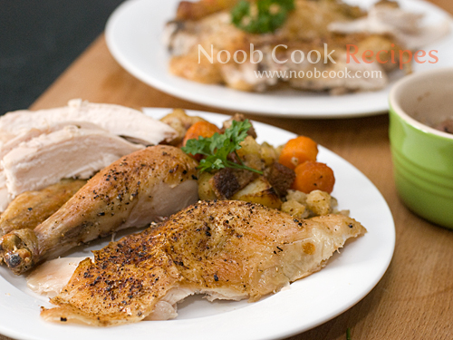 Roast Chicken with Stuffing