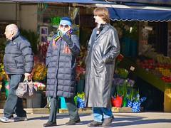 sunglasses scarf manhattan broadway upperwestside hood peeps