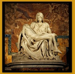 PIETA - The Most Famous and Revered Marble Sculpture in Christian World. (Sunciti _ Sundaram's Images + Messages) Tags: italy sculpture pope vatican church marie easter catholic maria religion jesus stpauls icon christianity 1001nights visualart masterpiece pieta bestshot brightspark blueribbonwinner kaledioscope statutue 10faves 5photosaday michelengelo beautifulexpression innsburg magdaline abigfave enstantane anawesomeshot colorphotoaward aplusphoto agradephoto flickerdiamond inspirationhappiness concordians holysea rubyphotographer fabulousflicks overtheshot abovealltherest artofimages flickrmasterpieces marblefigurine