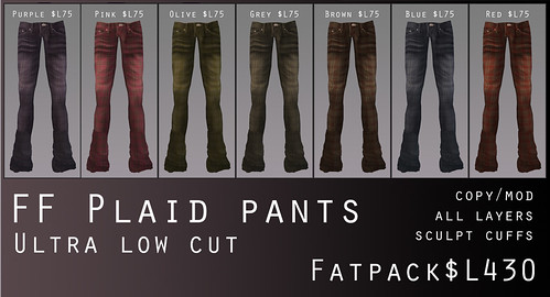 A:S:S - FF Plaid pants