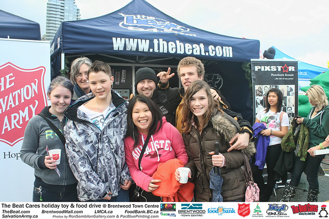 The BEAT CARES holiday food and toy drive at Brentwood Town Centre photos by Ron Sombilon Gallery (521) by Ron Sombilon Gallery