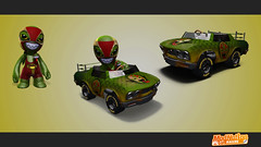 ModNation Racers PS3: El Snake-o