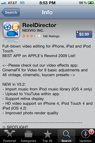 ReelDirector for iOS