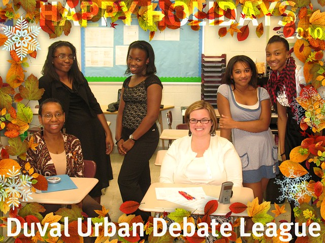 Urban Debate kicks off next year 2011 in Jacksonville, Florida