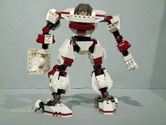 EMRU-1 (Canis Arms Corporation) Tags: lego gaming mecha mech battletech moc