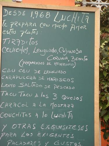 Restaurante Luchita