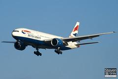 G-VIIU - 29963 - British Airways - Boeing 777-236ER - 101205 - Heathrow - Steven Gray - IMG_5409