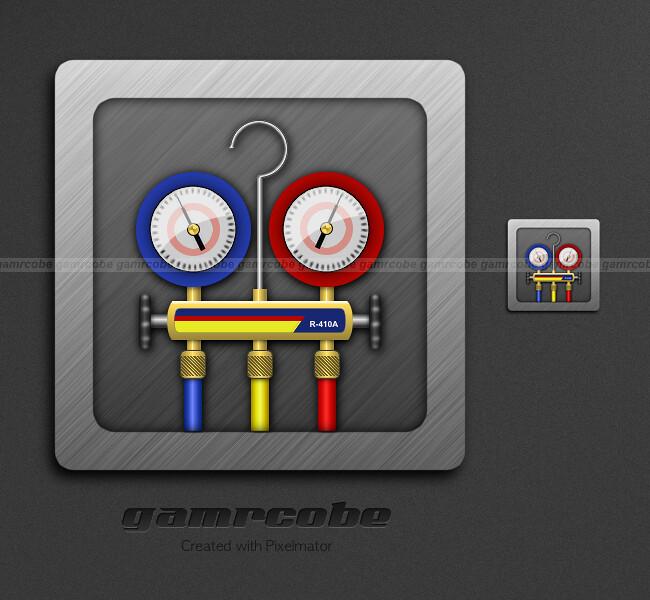 Refrigerant Gauges Icon