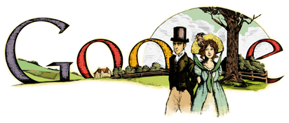 Google - 235th Birthday of Jane Austen