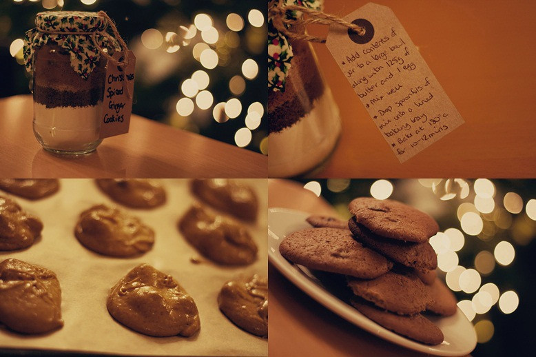 Christmas Ginger Spiced Cookies