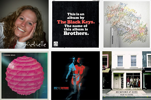 Top 5 Albums of 2010 - Michelle Davies