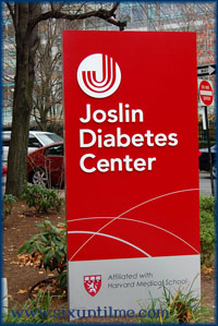 My diabetes alma mata - The Joslin Clinic