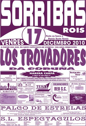 Rois - Sorribas 2010 - cartel de decembro
