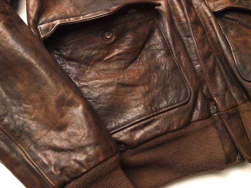 Ralph Lauren / A-2 Leather Jacket