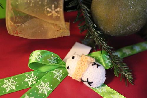 snowman gift adornment