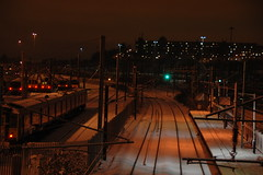 Hornsey Station winters eve (milolovitch69) Tags: winter snow railway 2010 hornsey