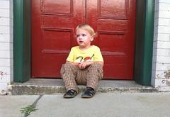 kieran at the red door