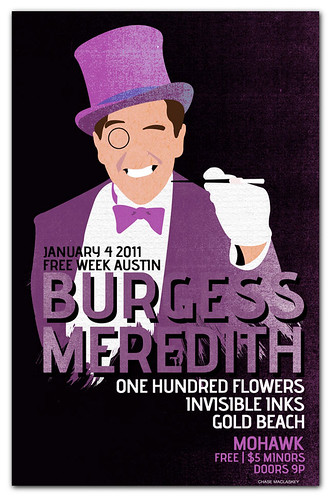 Burgess Meredith Free Week at Mohawk