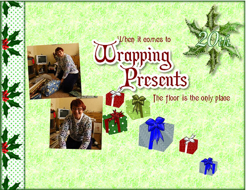 20th Wrapping Presents