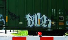 BUKET (YardJock) Tags: art train graffiti tag graf tracks railway boxcar form graff tagging freight bombing tko buket