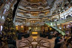 Jewel of the Seas (blueheronco) Tags: cruise ship interior centrum fisheyelense jeweloftheseas royalcaribbeancruises