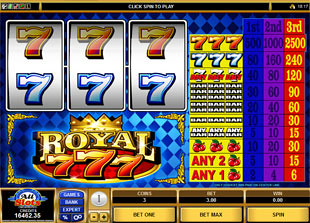 Royal Sevens slot game online review
