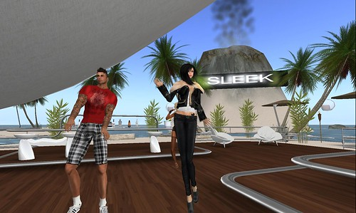 xavier, raftwet at sleek for dj sao