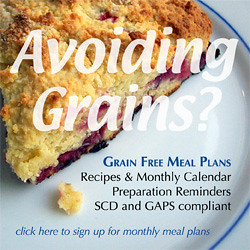 Sign Up for Grain Free Meal Plans