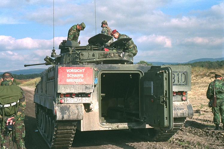 Warrior Sennelager West Germany October 2002