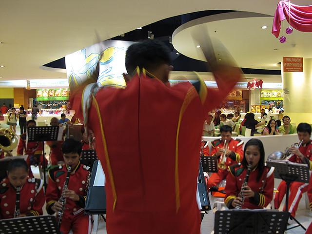 band conductor at trinoma landmark