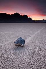 Off to the Racetrack part 2 - where did the rocks go? (D Breezy - davidthompsonphotography.com) Tags: california sunset cloud mountains lines silhouette racetrack canon rocks unitedstates playa deathvalley deathvalleynationalpark 1740f4l movingrocks dvnp theracetrack 1740mml inyocounty singhrayfilter 5dmarkii 3stopreversegnd
