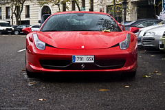 Ferrari 458 Italia (Raul Salinas) Tags: madrid red espaa black car canon photography eos amazing spain italia ferrari front salinas exotic raul 17 expensive 85 exclusive supercar agressive 458 eor 40d autogespot