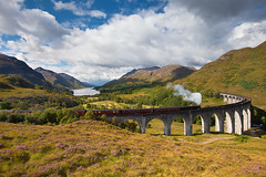 Harry who? (Phijomo) Tags: railroad train scotland unitedkingdom daytime lochshiel glenfinnan scottishhighlands ef1635mmf28liiusm canoneos5dmarkii