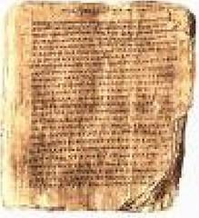 Manuscrito de HC, JD y AW
