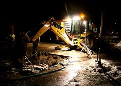 pipe waterpipe nightmoves overtime newholland municipalworkers bgpw buffalogrovepublicworks