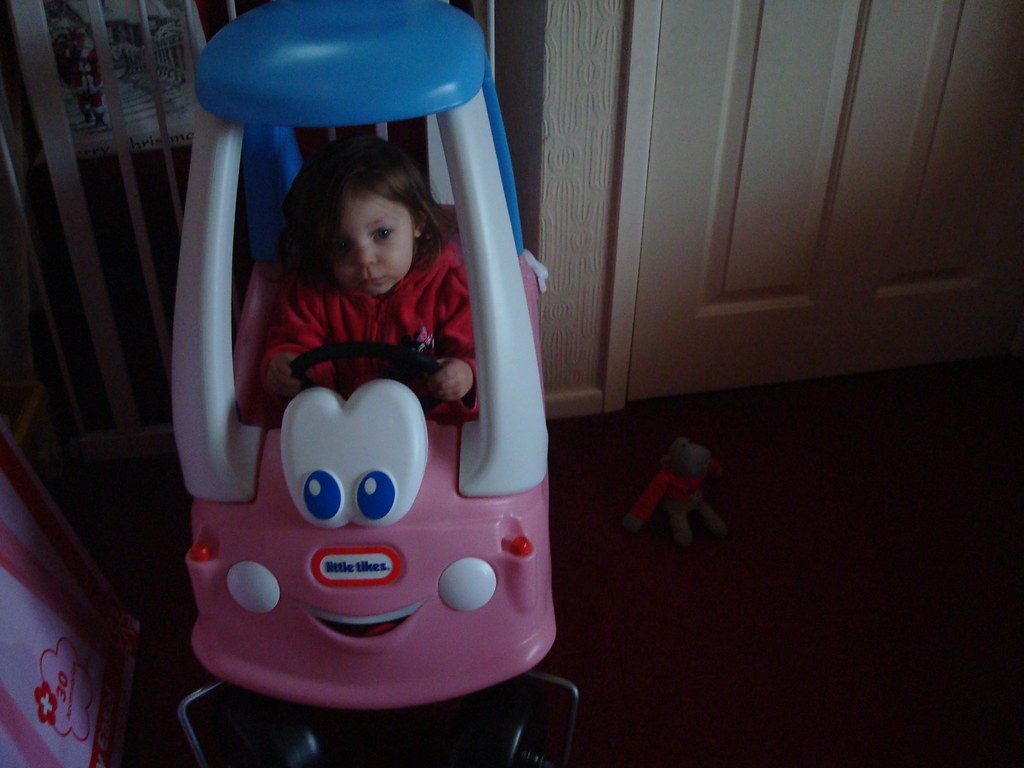betty in her coupe