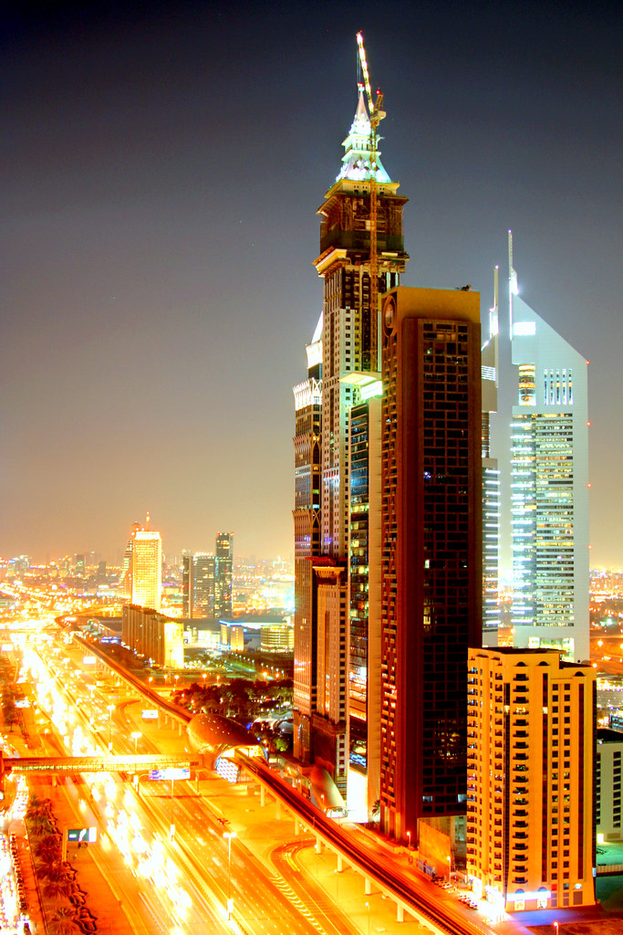 Shk Zayed Road - North View