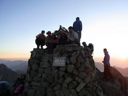 100822~24 穂高登山3日目