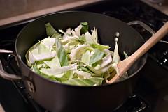 sausage-cabbage-inpan