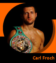 Pictures of Carl Froch