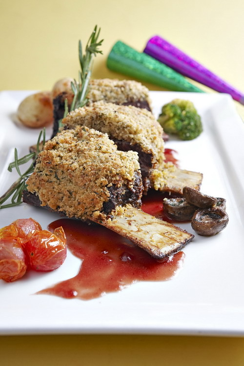 Beef with Herb Crust