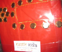 RED COTTON KURTI FROM EXOTIC INDIA