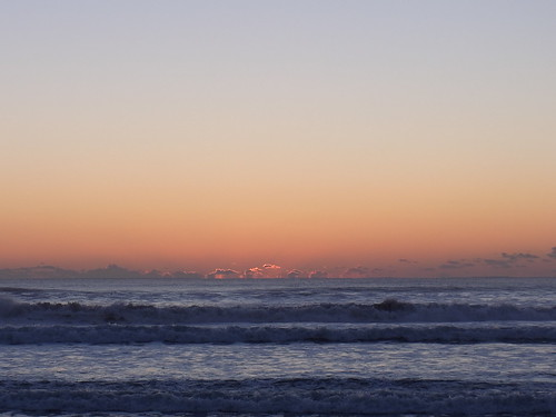 Sunrise on new year's day (2011/1/1 6:45am)