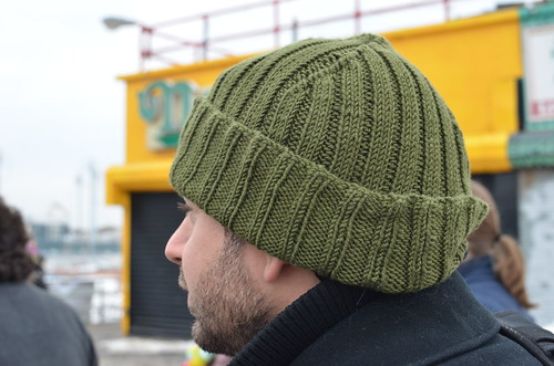 Knot My Day Job: FO- Jaques Cousteau hat